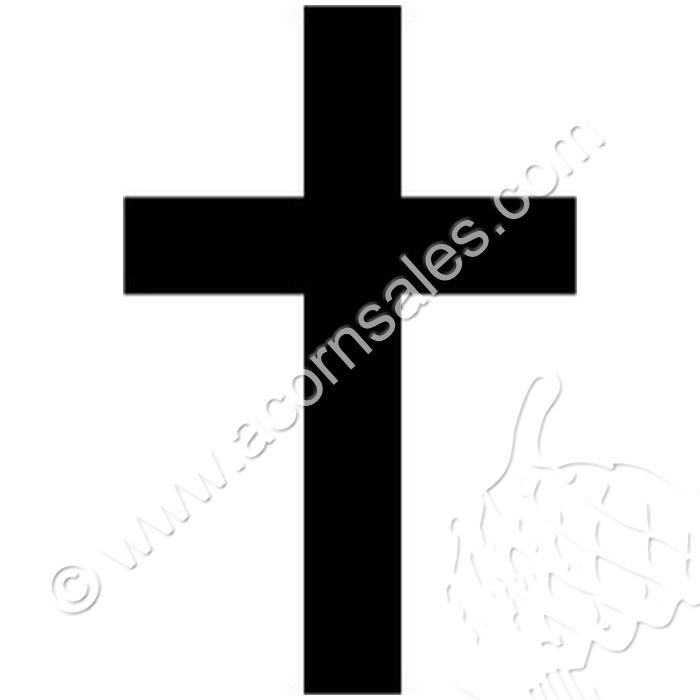 Art Rubber Stamps Religious Stamps Solid Christian Cross Stamp