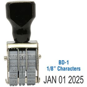 Line Date Stamp Size 1/8 Characters