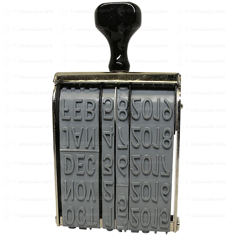 extra large date stamp 11 16 characters l acorn sales