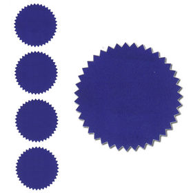 Blue Foil Seals Qty 40