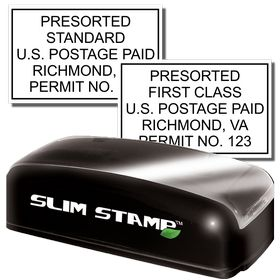 Slim Pre-Inked Bulk Rate Mail Stamp