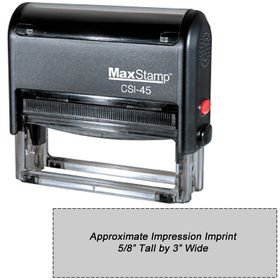 Self Inking Stamp CSI-45 Size 1 x 3-1/4