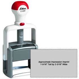 Shiny E-906 Heavy Duty Self Inking Stamp
