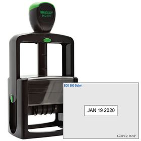 ECO Series Self Inking Date Stamp 1-7/8 x 2-11/16