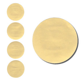 Round Gold Foil Seals Qty 40