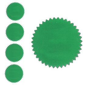 Green Foil Seals Qty 40