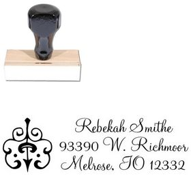 Montere Regular Custom Address Ink Stamp