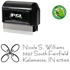 PSI Pre-Ink Loop Bernhard Fashion Personalized Address Ink Stamp