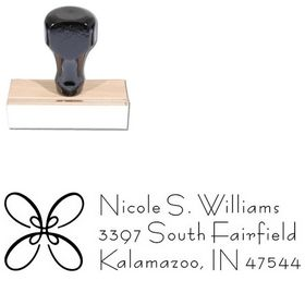 Loop Bernhard Fashion Personalized Address Ink Stamp