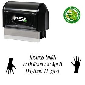 Pre-Inked Hand Dream Orphans Inking Address Stamp