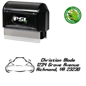 PSI Pre-Ink Car Detonate Address Stamper