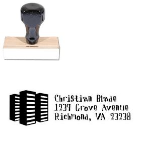 Davis Buildings Personalized Address Stamper