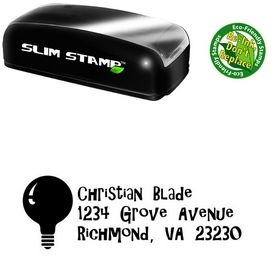 Slim Pre-Ink Giligans Island Address Stamp