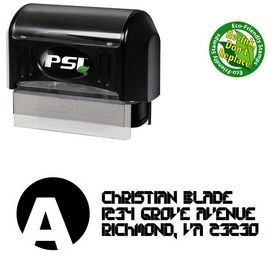 Pre-Inked A Circle Collective Custom Address Stamper