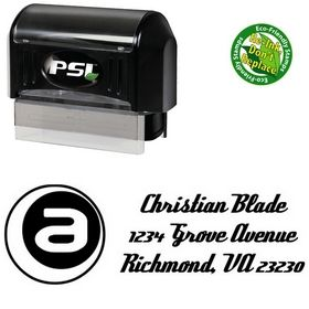 PSI Pre-Ink A Inside Deftone Stylus Custom Address Ink Stamp
