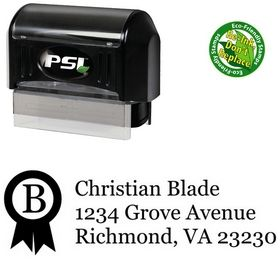 Pre-Inked Ribbon Georgia Return Address Ink Stamp