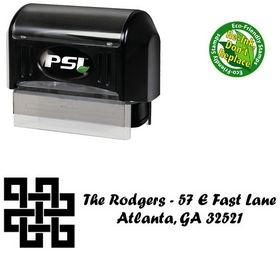 PSI Pre-Ink Design Forte Creative Address Stamp