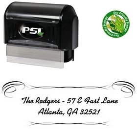 PSI Pre-Ink Alako Custom Address Stamp
