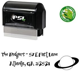 Pre-Inked Junior & Stinky Inking Address Stamp