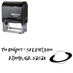Self-Inking Junior & Stinky Inking Address Stamp