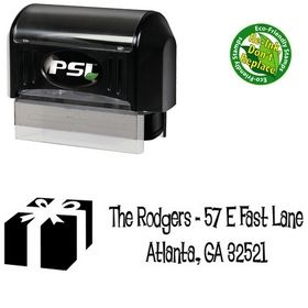 Pre-Inked Lounge Bait Personalized Address Stamp