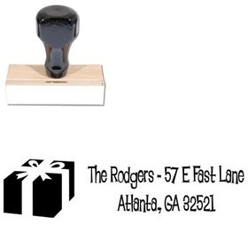 Lounge Bait Personalized Address Stamp
