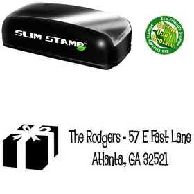 Compact Lounge Bait Personalized Address Stamp
