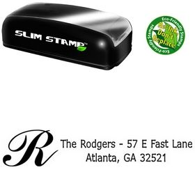 Slim Initial Drummon Creative Address Stamper