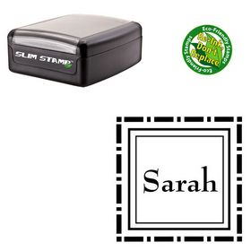 Portable Bernhard Mod Custom Made Square Monogram Stamp