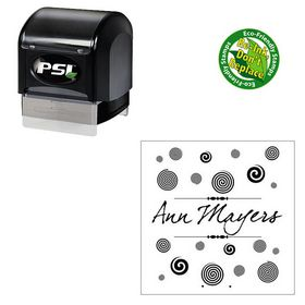 Pre-Ink dear Joe four Custom Monogram Stamper