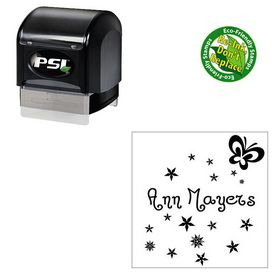 PSI Jandles Personal Monogrammed Rubber Stamp