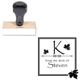 Papyrus Custom Made Initial Address Stamp