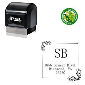 PSI Pre-Inked Mincho Custom Made Wedding Stamp