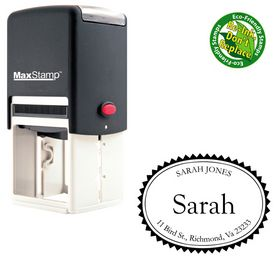 Self-Inking Goudy Old Style Customized Name Stamp