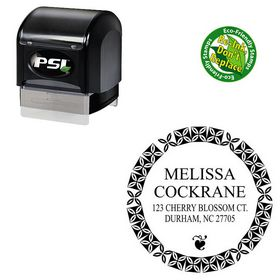 PSI Mongolian Baiti Customized Address Monogram Stamp