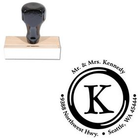 Type Keys Custom Initial Address Stamp