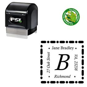 PSI Calisto Address Monogram Stamp