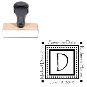 Papyrus Custom Made Wedding Monogram Stamp