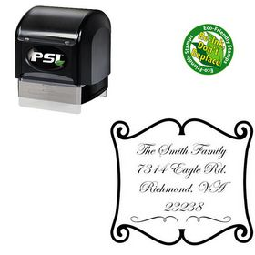 PSI Pre-Inked Custom Wedding Stamp Custom Wedding Stamp
