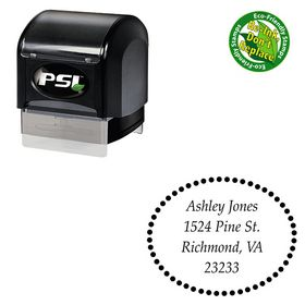 PSI Pre-Ink Palatino Linotype Customized Name Stamp