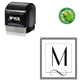 PSI Pre-Ink Parisian Personalized Monogrammed Letter