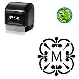 PSI Pre-Ink Maiandra Rubber Initial Stamp