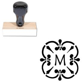 Maiandra Rubber Initial Stamp