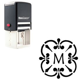 Self Inking Maiandra Rubber Initial Stamp