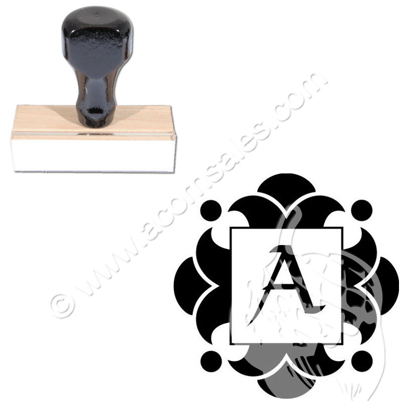 viking rubber initial stamp size 1 5 8 acorn sales