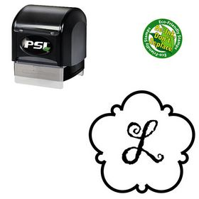 PSI Pre-Ink Gigi Personalized Round Rubber Stamp