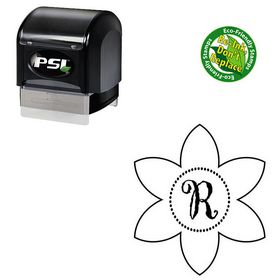 PSI Pre-Ink Gigi Custom Made Rubber Initial Stamp