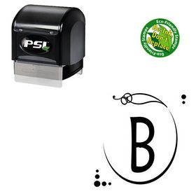 PSI Pre-Inked Maiandra Personalized Monogram Stampers