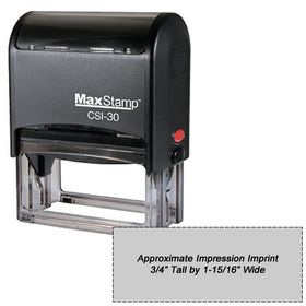 Self Inking Stamp M30 Size 3/4 x 1-15/16