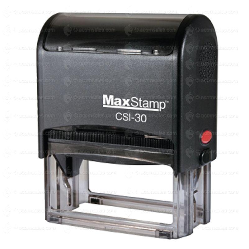 self inking stamp m30 stamp size 3 4 x 1 15 16 acorn sales